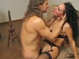 Italian Boss And His Sexy And Obedient Slaves