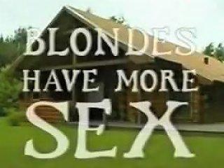 Blondes Have More Sex Dansk Vintage Porno Tubepornclassic Com